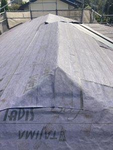 現場レポート② 厚木市O様邸-6 屋根カバー工事 完成 (9月27日)
