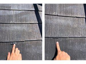 外壁屋根リフォーム 屋根塗装 縁切り、タスペーサーと雨漏りの注意点 現場レポート③ 伊勢原市F様邸-6 (10月8日)
